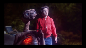Still from movie ET